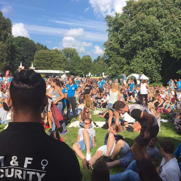 Evenementenbeveiliging - M&F-Security Beveiliging in Groningen