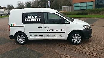 Mobiele surveillance M&F-Security Beveiliging in Groningen